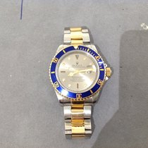 Rolex Submariner Date Serti Dial Steel and 18ct Gold