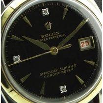 Rolex | Big Bubble Back Ovettone Steel and Gold, ref.6105,...