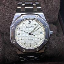 Audemars Piguet Royal Oak - 14790 - White Dial - AP Service -...