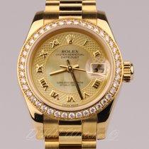 Rolex 18k Yellow Gold Lady President 26 Datejust