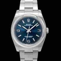 Rolex Oyster Perpetual 36 Steel 36mm Blue United States of America, California, San Mateo