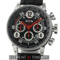 B.R.M Chronograph 44mm Automatic pre-owned Black