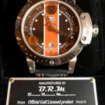 B.R.M Titanium 44mm Automatic DDF6 44 GULF LAST EDITION new