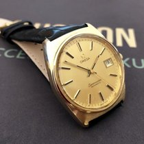 Omega Vintage 1970s Mens Seamaster Gold  Watch Automatic + Box