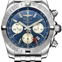 Breitling AB042011/C851-375A Acier Chronomat 44 GMT 44mm nouveau
