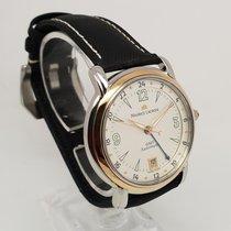 Maurice Lacroix Pontos GMT 18K Gold & Steel Mens 38mm Watch