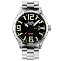 Ball Engineer Master II Aviator Zeljezo 46mm Crn
