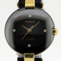 Rado Oro amarillo Cuarzo Negro 24mm usados
