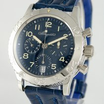 Breguet Chronograph 39mm Automatic 1999 pre-owned Type XX - XXI - XXII Blue