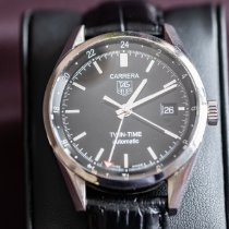TAG Heuer Carrera Calibre 7 Steel 39mm Black No numerals United States of America, Maine, Eliot