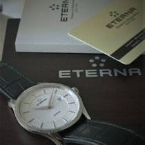 Eterna Artena Steel 40mm Black