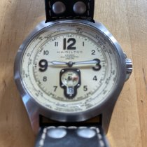 Hamilton Khaki Aviation Acier 42mm Arabes France, soisy sur ecole