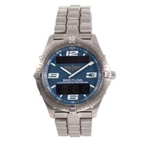 Breitling Aerospace Titan 40mm Blau