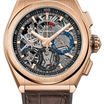 Zenith Defy El Primero Rose gold 44mm Transparent No numerals United States of America, Florida, Sunny Isles Beach