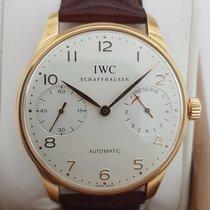 IWC Portuguese Automatic Red gold 42mm Silver Arabic numerals UAE, Dubai