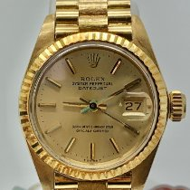 Rolex Lady-Datejust 6917 Very good Yellow gold 26mm Automatic