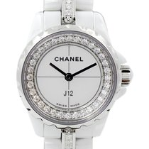 Chanel J12 occasion 20mm Blanc