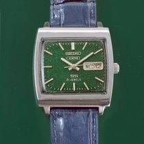 Seiko 5 Steel 34.5mm Green United States of America, California, Los Angeles