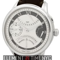 Maurice Lacroix Steel 46mm Manual winding MP7218-SS001-110 new United States of America, New York, New York