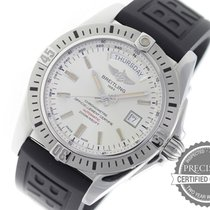 Breitling Galactic 44 A45320 Silver A45320B9/G797