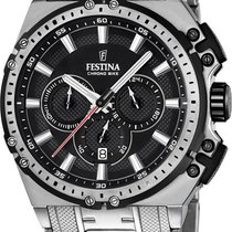 Festina Chrono Bike F16968/4 Herrenchronograph Massives Gehäuse