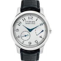 F.P.Journe Chronomètre Souverain   40mm   platinum   silver dial