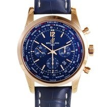 Breitling Transocean Unitime Pilot Rose gold 46mm Blue United States of America, Pennsylvania, Southampton