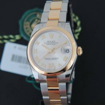 Rolex Datejust Gold/Steel VI Diamonds NEW 178243