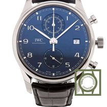 IWC Portugieser Chronograph Blue Dial 42mm NEW
