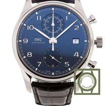 IWC Portuguese Chronograph Acier 42mm Bleu Arabes Belgique, Antwerp