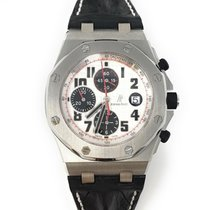 Audemars Piguet Royal Oak Offshore Chronograph Steel 42mm Silver Arabic numerals United States of America, California, Beverly Hills