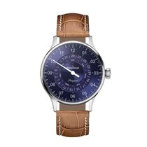 Meistersinger 40mm Automatic new Pangaea Day Date Blue