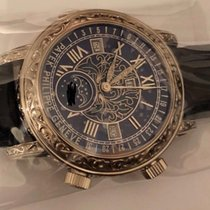 Patek Philippe Sky Moon Tourbillon Blue Dial