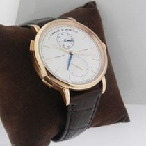 A. Lange & Söhne Rose gold Automatic Silver No numerals 40mm new Saxonia
