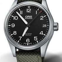 Oris Big Crown ProPilot Date Acier 41mm Noir France, Bordeaux