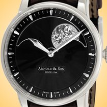 Arnold & Son 42mm Manual winding new HM Perpetual Moon Black