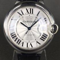 Cartier Ballon Bleu 42mm Сталь 42mm Cерый Римские