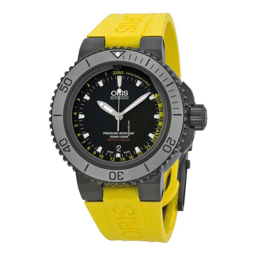 Oris Men's 01 733 7675 4754 SET RS Aquis Watch