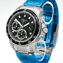 Glashütte Original Sport Evolution Chronograph 39-31-43-03-14 2012 gebraucht