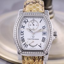 Carl F. Bucherer 36mm Automatic 2013 pre-owned Patravi White