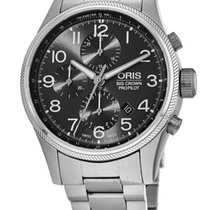 Oris Big Crown ProPilot Chronograph Steel Arabic numerals United States of America, New York, Brooklyn