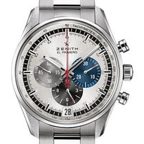 Zenith El Primero 36'000 VpH new Automatic Chronograph Watch with original box and original papers 03.2040.400/69.M2040