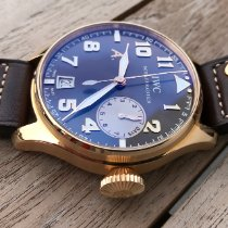 IWC Big Pilot Rose gold 46mm Brown