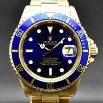 Rolex Submariner Date usados 40mm Azul Fecha Oro amarillo