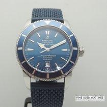 Breitling Superocean Héritage 46 gebraucht 46mm Blau Kautschuk