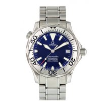 Omega Seamaster Diver 300 M Steel 36mm Blue United States of America, New York, New York