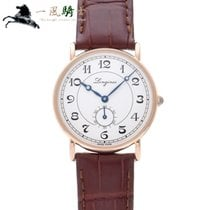 Longines Présence Heritage pre-owned 34mm Silver Leather