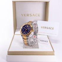 Versace Stål 42mm Kvarts V11060017 ny