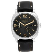 Panerai Radiomir 1940 pre-owned 45mm Black Date Leather
