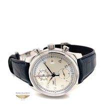 IWC Portuguese Chronograph Steel 42mm Silver Arabic numerals United States of America, California, Beverly Hills